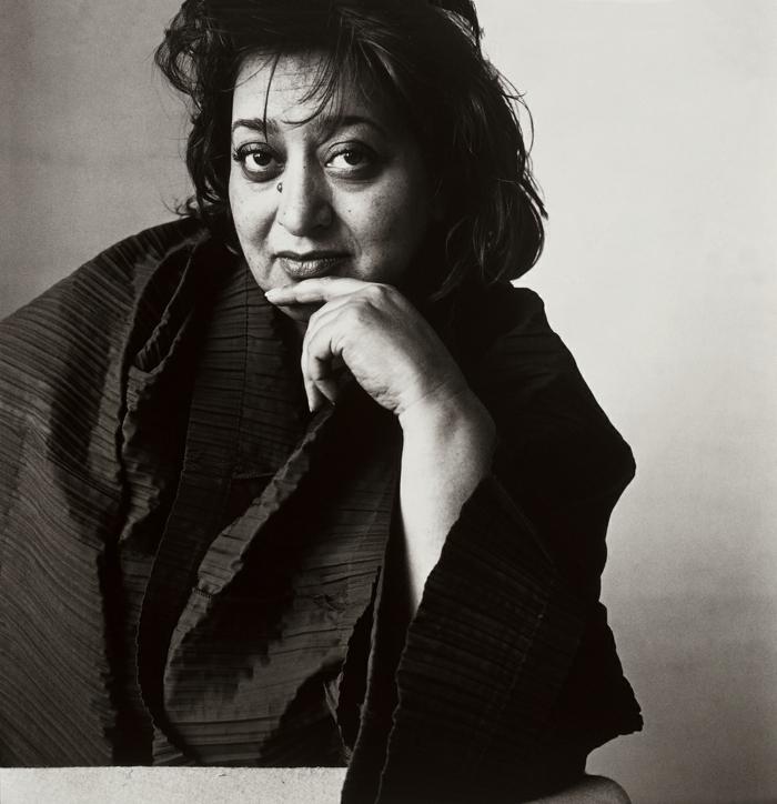 berühmte architekten zaha hadid portrait