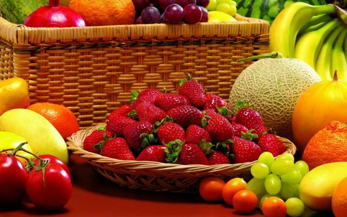 bewusste ernährung frische früchte gesunde ernährung