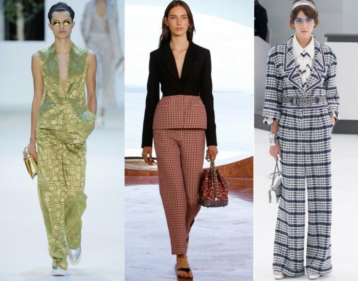 business anzüge damen 2016 fashion catwalk frauenmode trends