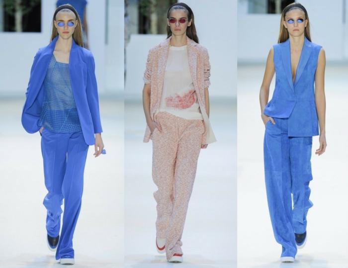 business anzüge damen haute couture hosen sakkos modetrends 2016