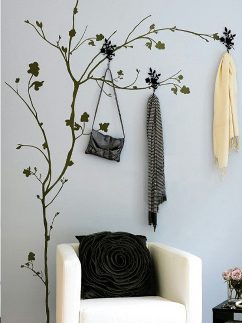 coole wandtattoos aufkleben tipps und tricks f r eine kreative wanddeko. Black Bedroom Furniture Sets. Home Design Ideas