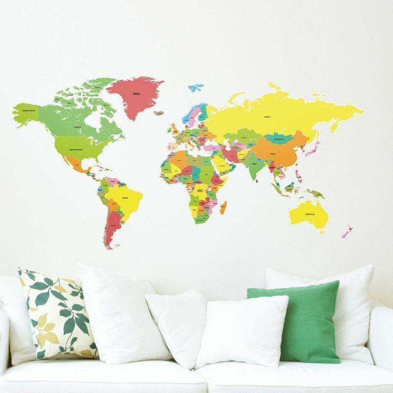Farbige Tapeten Entfernen : Coole Wandtattoos aufkleben: Tipps und Tricks f?r eine kreative