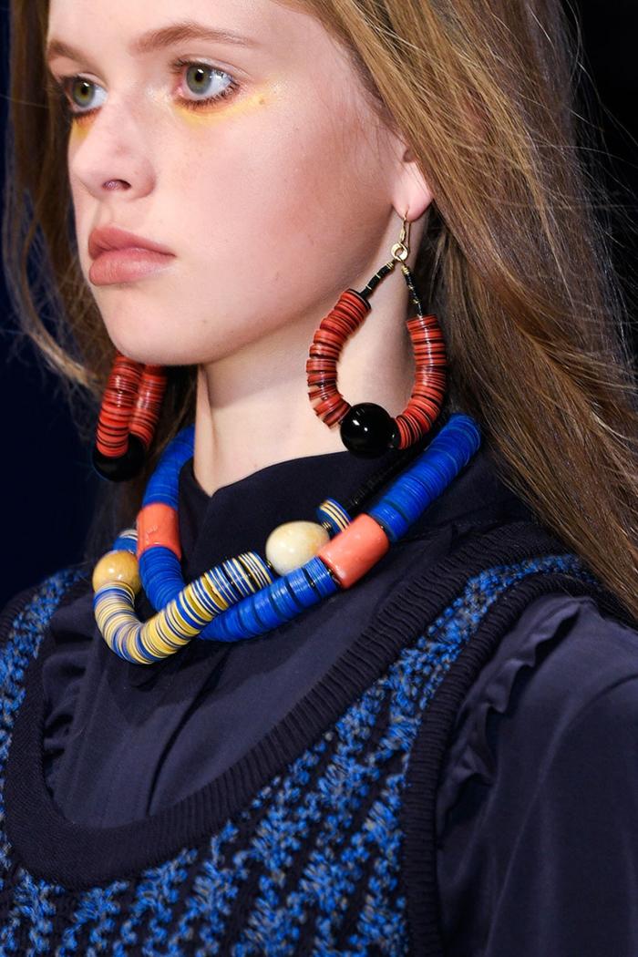 damenschmuck halskette ohrringe schmucktrends 2016