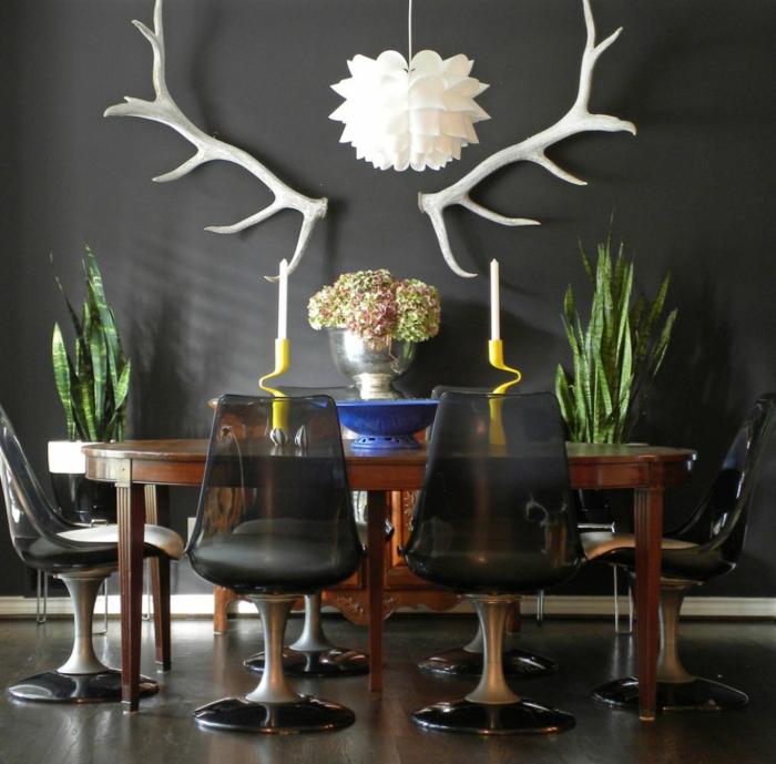 Wohnung dekorieren 55 innendeko ideen in 6 praktischen for Deko ideen pflanzen