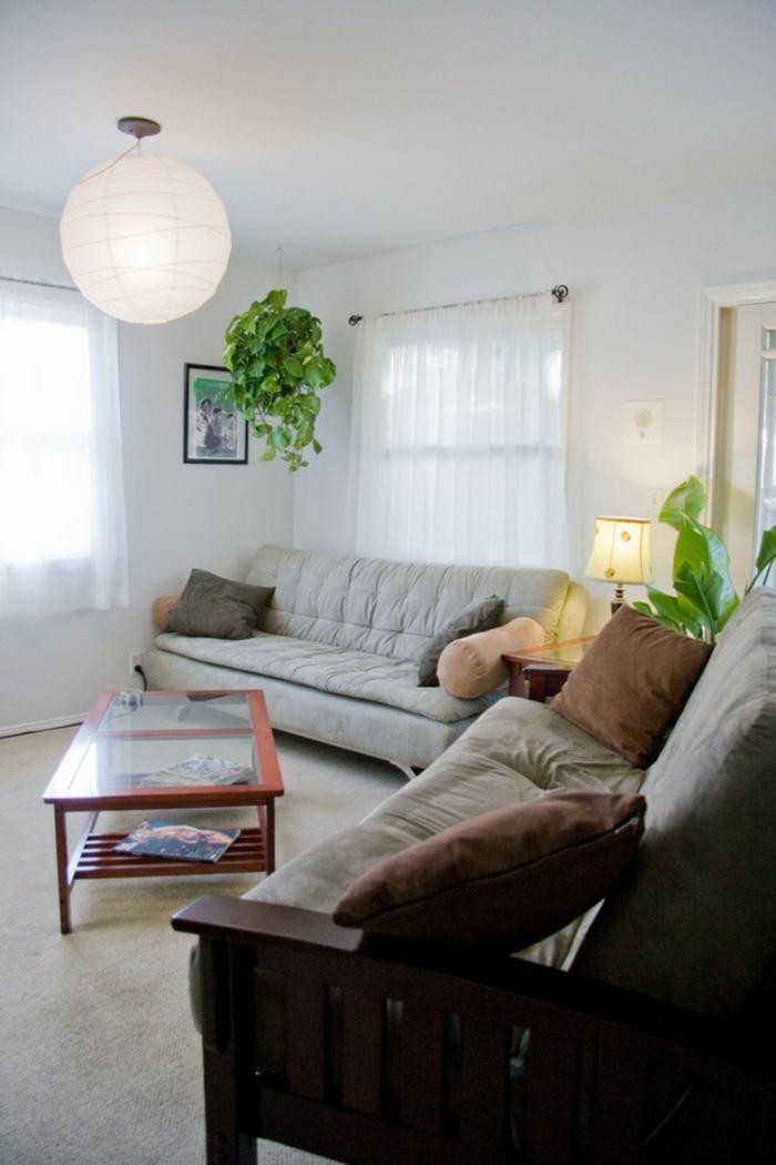 deko ideen pflanzen wohnzimmer innenpflanzen wohnideen