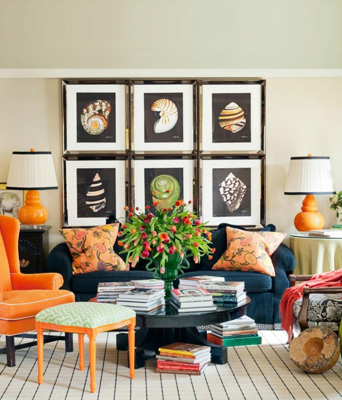 Wohnung dekorieren 55 innendeko ideen in 6 praktischen for Wanddeko pflanzen