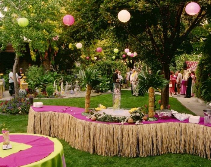 Gartenparty deko 50 ideen wie sie ihr fest sch ner machen for Raumgestaltung hochzeit