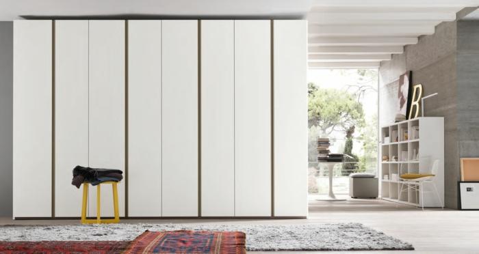 design kleiderschrank kamkorfurniture weiß robust wohnideen schlafzimmer