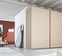 Kleiderschrank ausgefallen  60 Kleiderschrank Design Ideen, wie Sie Ihr Schlaf- oder ...