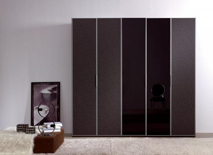 design kleiderschrank shick wohnideen schlafzimmer
