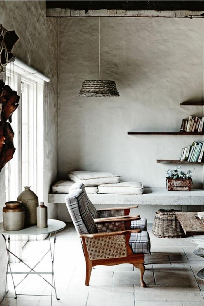 design leuchten hängelampe wohnideen wohnzimmer wandgestaltung ideen