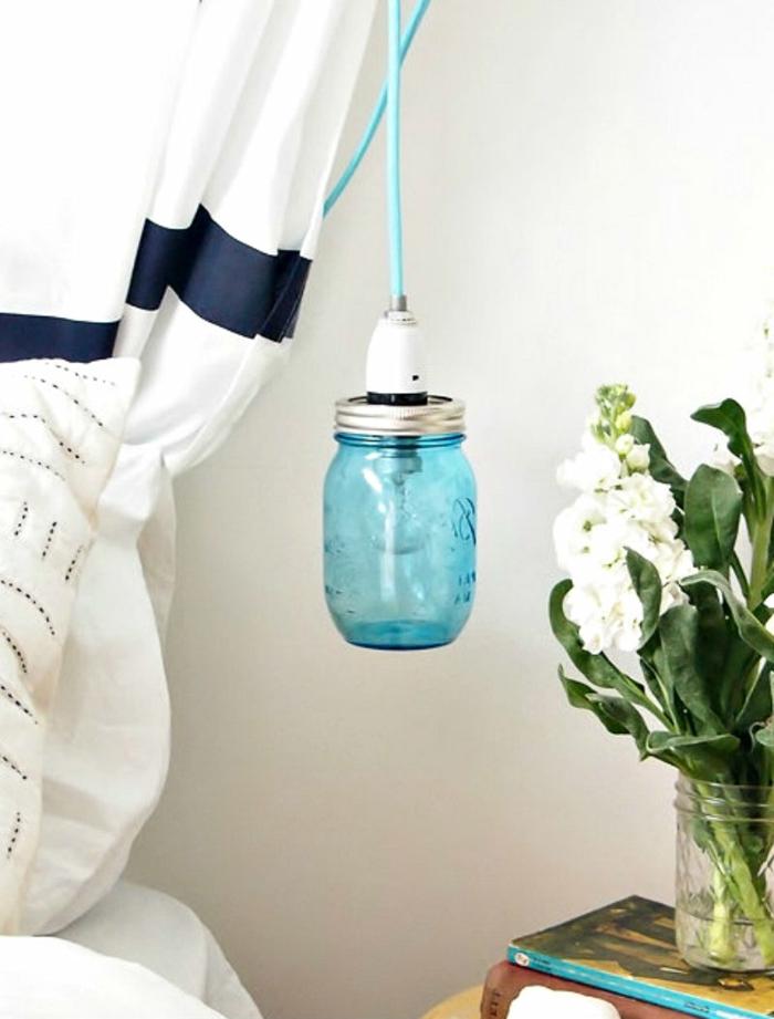 design leuchten pendelleuchte einmachglass diy ideen