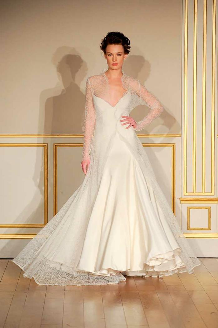 designer brautkleider hochzeitskleid lang 2015 ana quasoar