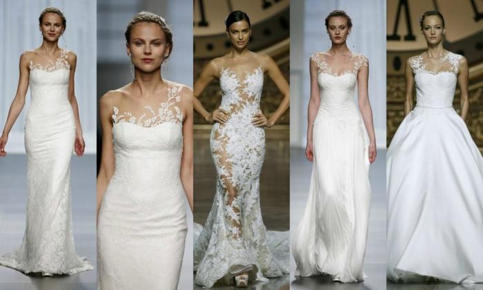 designer brautkleider hochzeitskleider 2016 trends haute couture pronovias barcelona