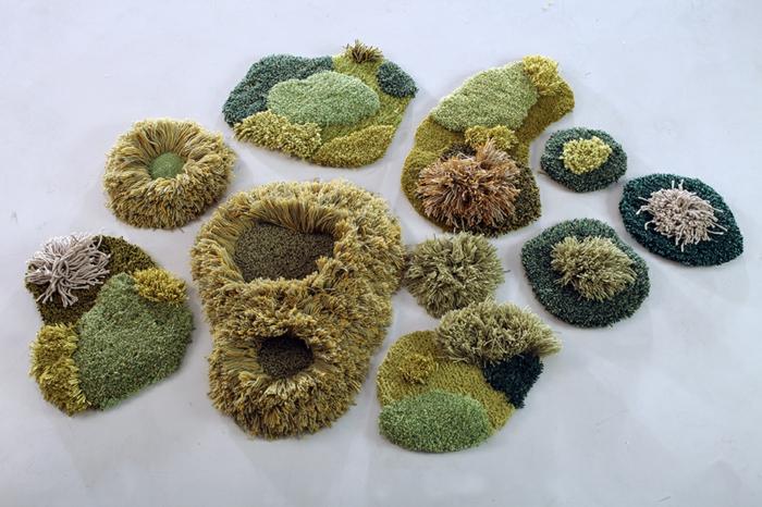 designer teppich indoor garten natur look wiesen teppichläufer