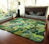 Designer Teppich – künstlerische Teppichkreationen, die als Naturlandschaften aussehen