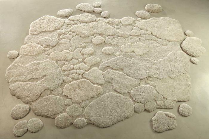 designer teppich indoor naturlandschaft teppichboden teppichläufer schneelandschaft