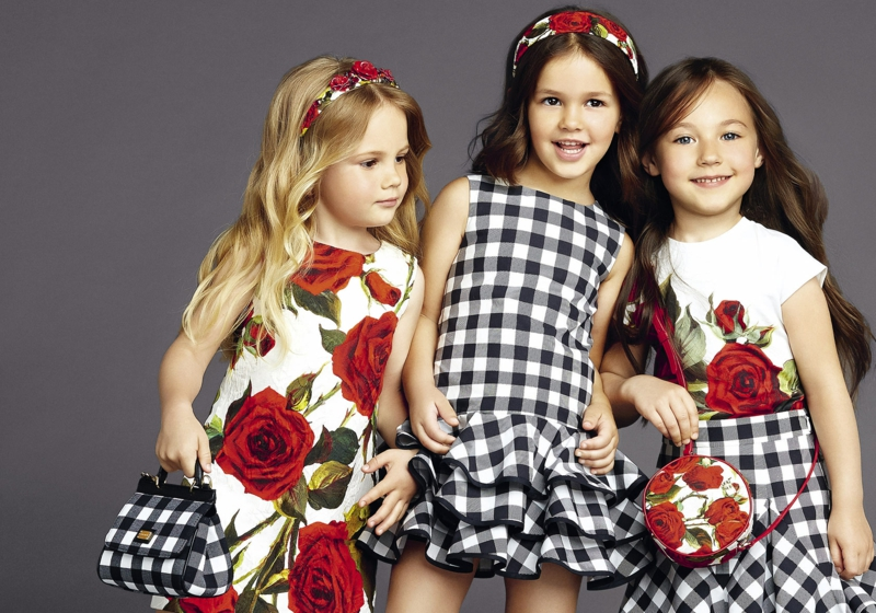 dolce and gabbana Sommermode Kindermode
