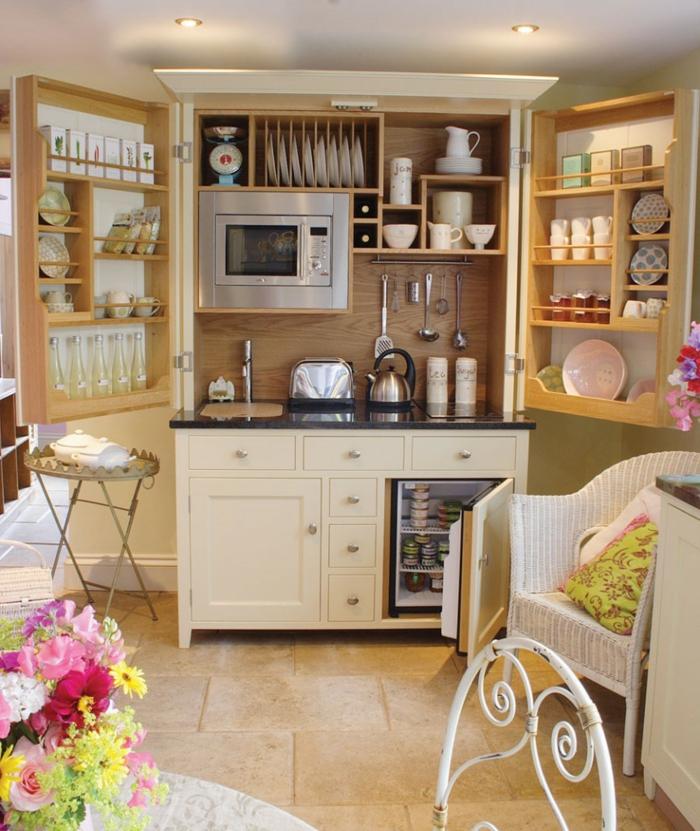 einrichtungsideen wohnideen küche regale küchenschränke stauraum