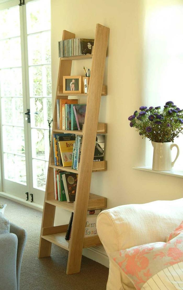 kreative einrichtungsideen wohnzimmer In K rben und auf offenen