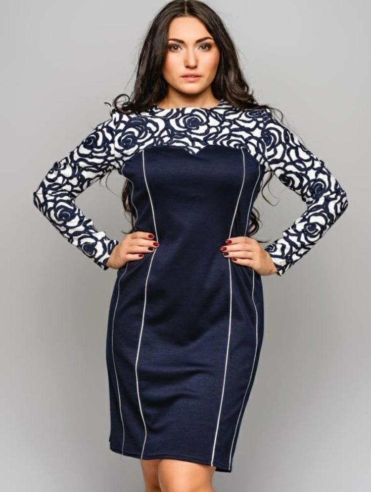 elegante Kleider große Größen Übergrößen Damen Mode
