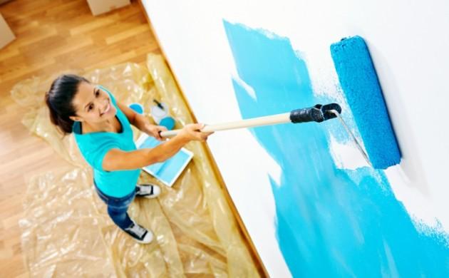 entspannende-Wandfarben-Ideen-blaue-Wände-streichen-Farbideen