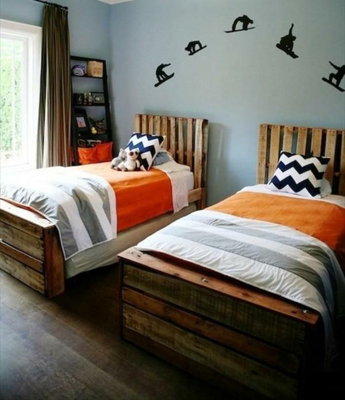 europaletten bett 45 alternativen f r das kinderzimmer. Black Bedroom Furniture Sets. Home Design Ideas