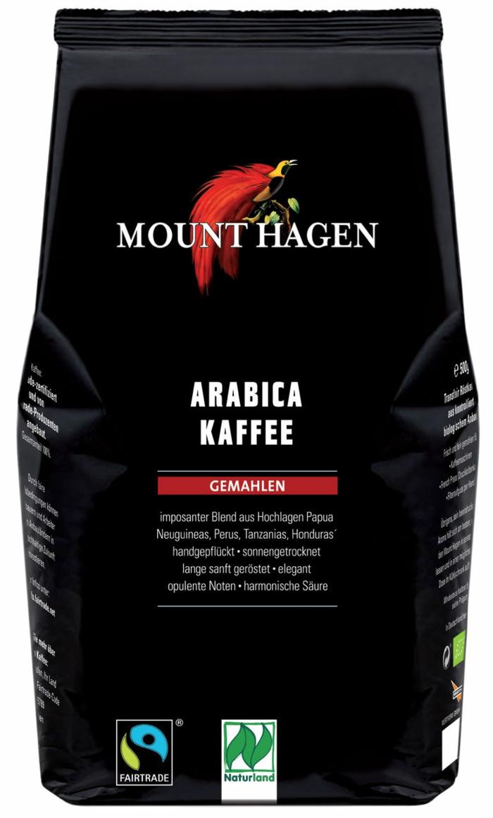 fair trade kaffee bio arabica gemahlen fairtrade zertifiziert naturland fair einkaufen