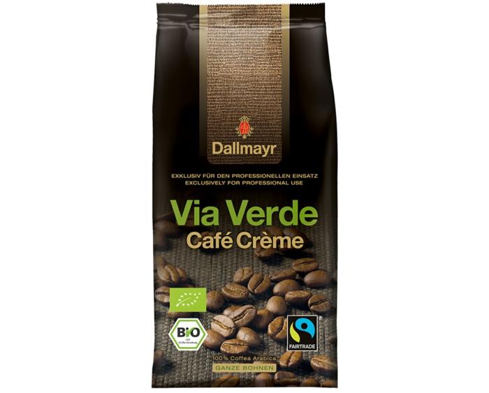 fair trade kaffee bio arabica via verde cafe creme dallmayr coffee perfect.de