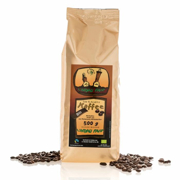 fair trade kaffee bio lindau fair arabica ganze bohne hensler kaffee.de