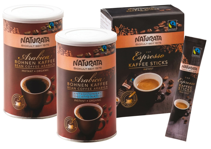 fair trade kaffee instant bohnenkaffee arabica naturata.de
