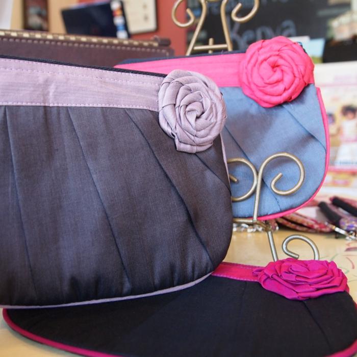 fairtrade produkte damentaschen stoff lila violett