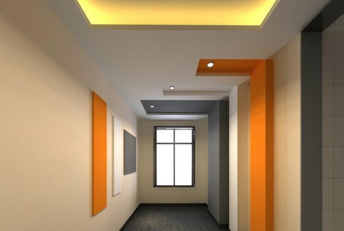 101 beispiele f r farbgestaltung und farbwirkung im raum for Wanddesign flur