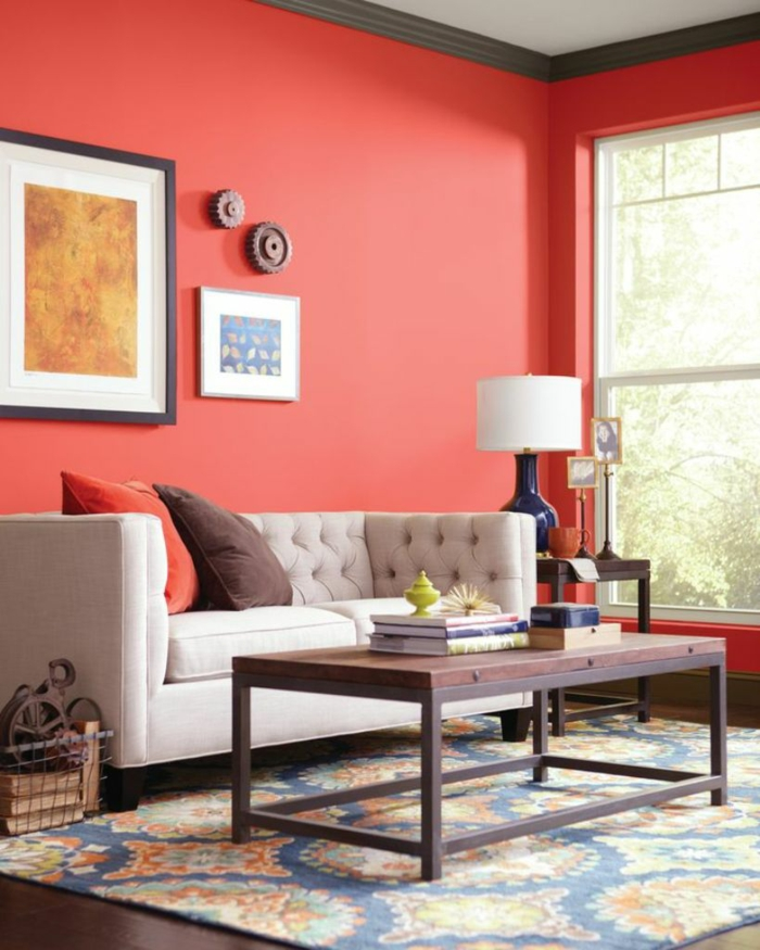 Farbkonzept wohnzimmer rot - Farbkonzept wohnzimmer ...