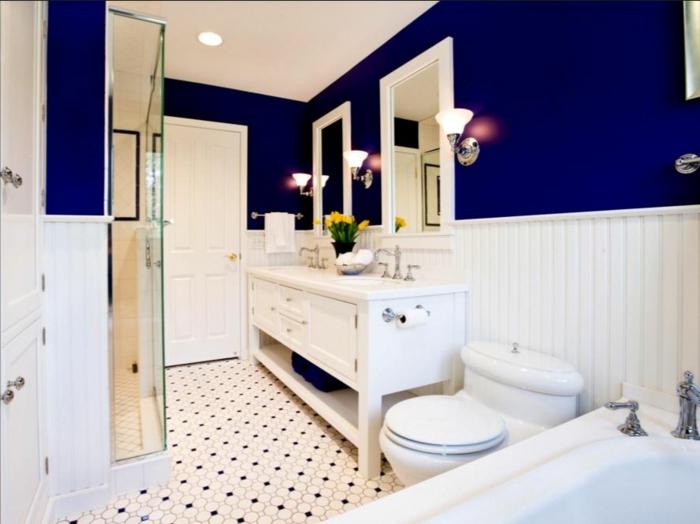 farbgestaltung-wandgestaltung-wanddesign-badezimmer-blau-satt