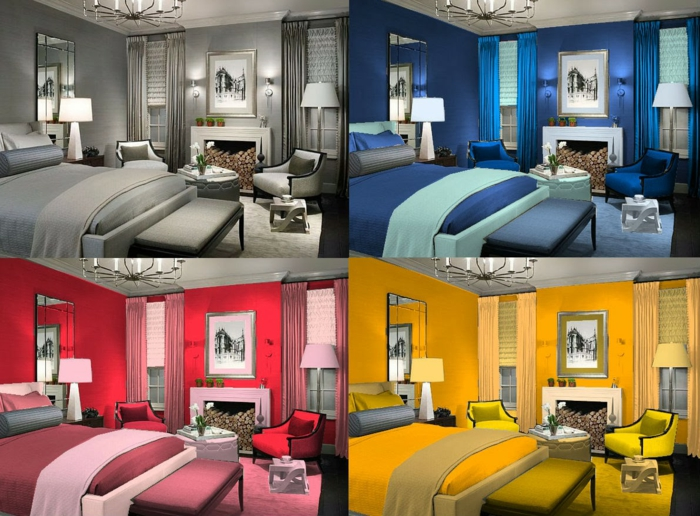 farbgestaltung wohnideen farbkreis einrichtungsideen