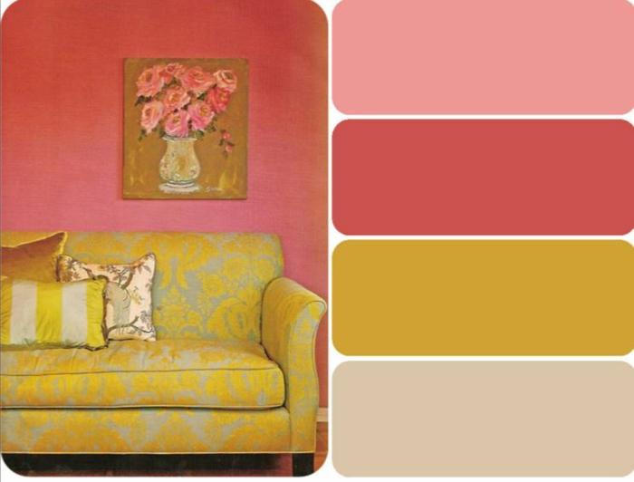 farbgestaltung wohnideen farbkreis panton farbkreis raumgestaltung beispiel