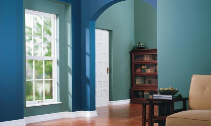 farbgestaltung wohnideen farbkreis panton farbkreis raumgestaltung blau