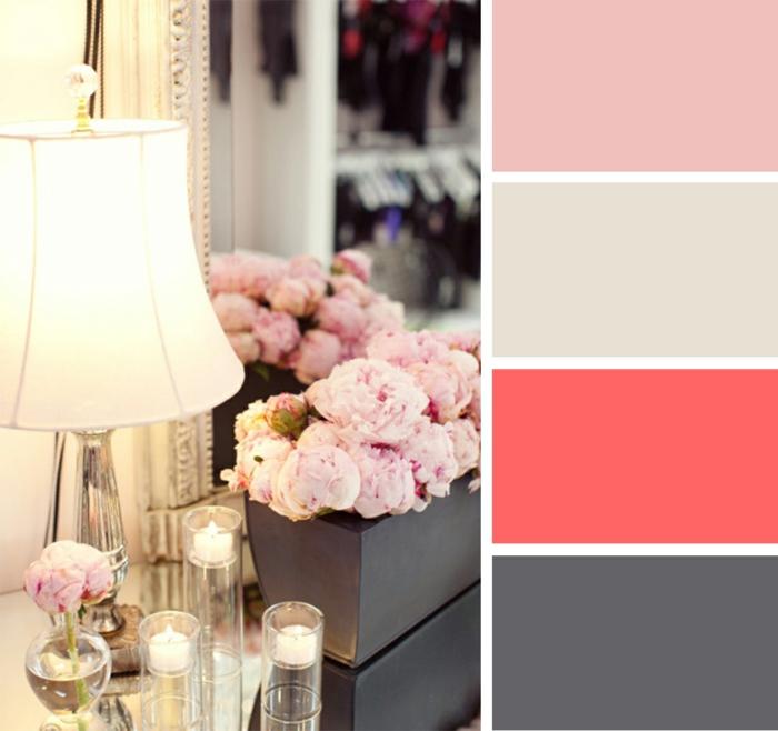 farbgestaltung wohnideen farbkreis panton farbkreis raumgestaltung ecke