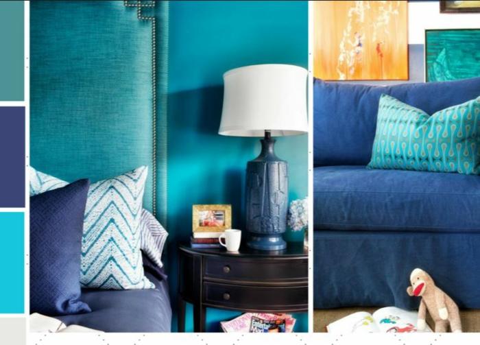 farbgestaltung wohnideen farbkreis panton farbkreis raumgestaltung meeresboden