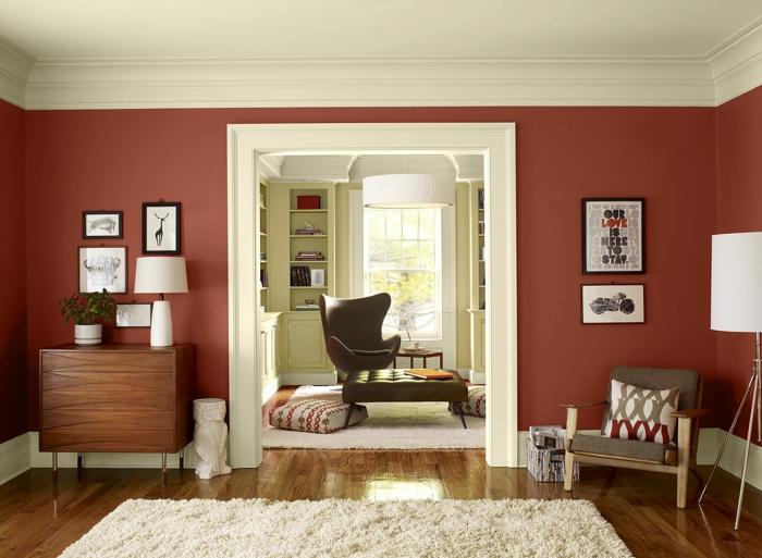 farbgestaltung wohnideen farbkreis panton farbkreis raumgestaltung ocher