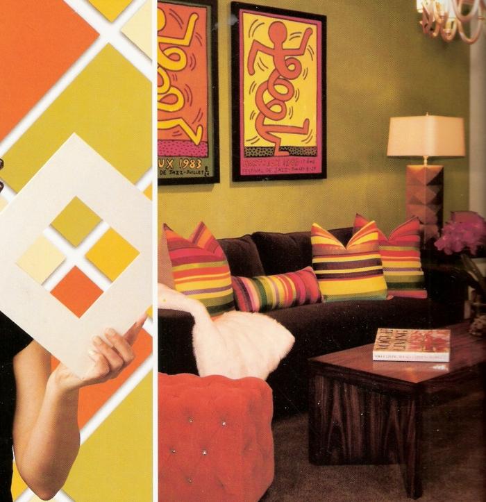 farbgestaltung wohnideen farbkreis panton farbkreis raumgestaltung senf orange