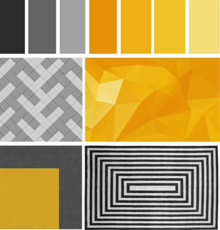 farbgestaltung wohnideen gelb stufen