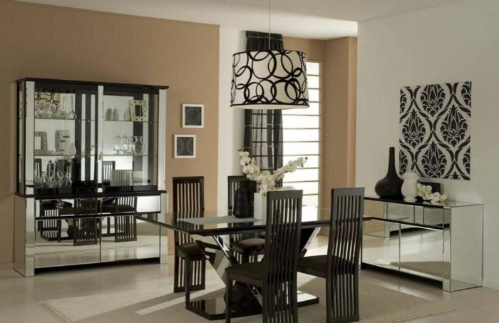 farbgestaltung wohnzimmer wandgestaltung wanddesign caramel braun