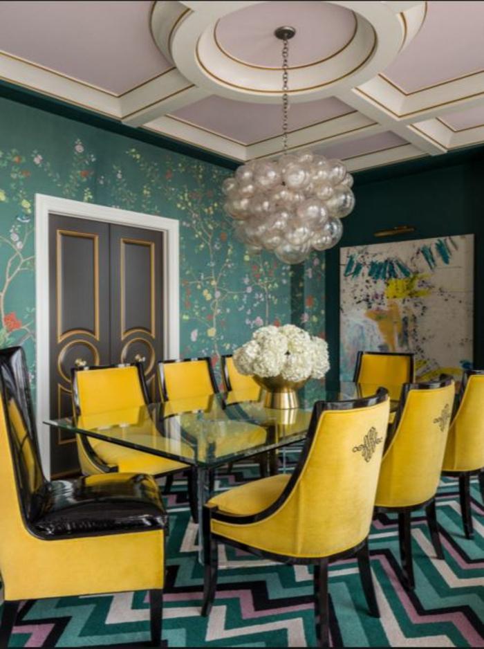 farbgestaltung wohnzimmer wandgestaltung wanddesign essraum