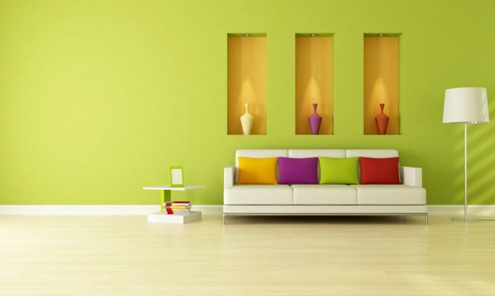 farbgestaltung wohnzimmer wandgestaltung wanddesign extravagant