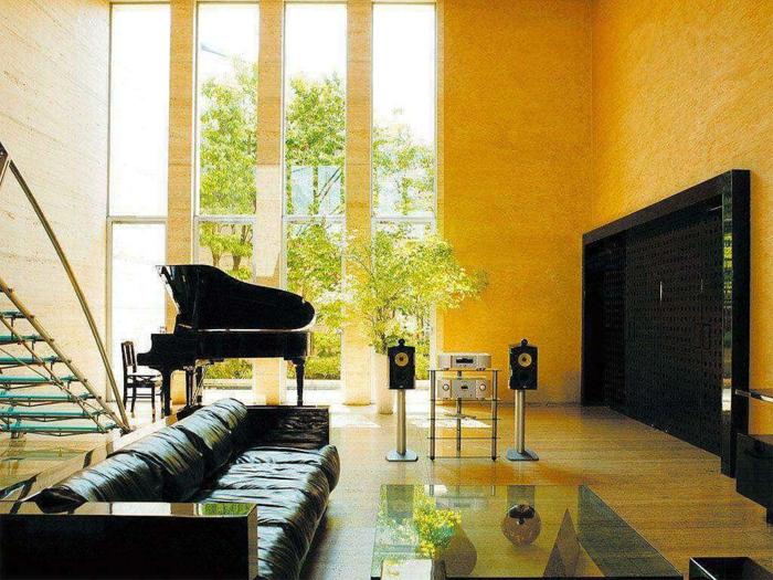 Wohnzimmer Farbe Weiß Nussbaum Beige Grau Beispiele – sehremini