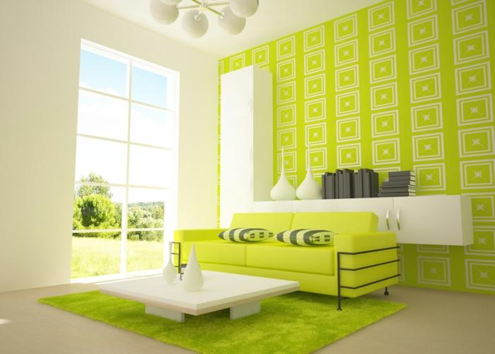 farbgestaltung wohnzimmer wandgestaltung wanddesign hysterisch