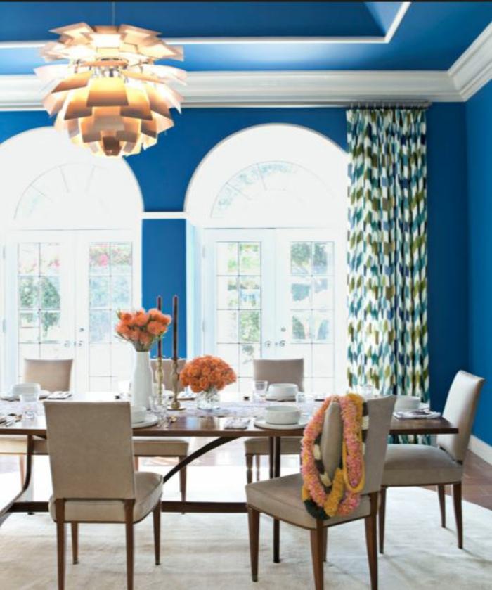 farbgestaltung wohnzimmer wandgestaltung wanddesign medditeran