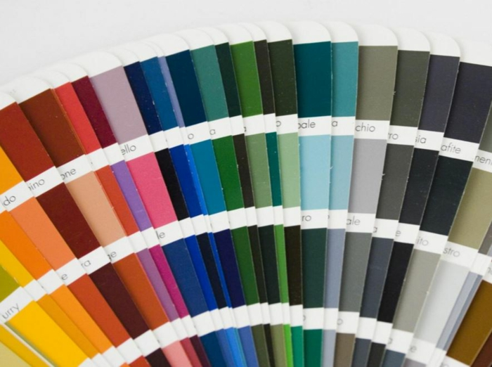 farbgestaltung wohnzimmer wandgestaltung wanddesign panton farben